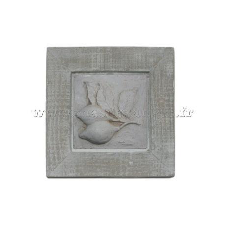 """Cadre modèle """"Nature"""" motif Citron- Création - Mas des Anges"""