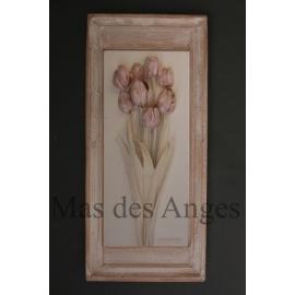 Grand cadre charme - Tulipe