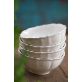 Bol déjeuner- 16cm - Impressions blanc