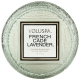 French cade lavender -Macaron candle