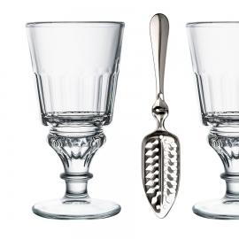 Set  de 2 verres Absinthe