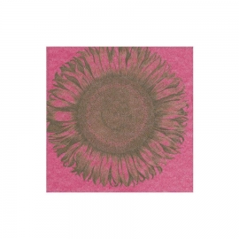 Airlaid Fuchsia Sunflower