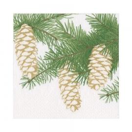 Ivory Pinecones