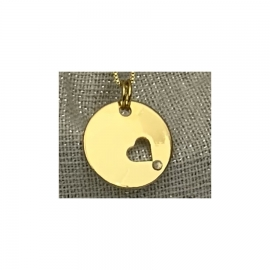 Médaille dorée Love