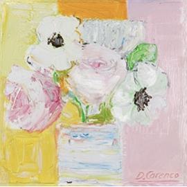 """Carte postale """" Fleurs"""""""