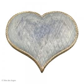 "Coeur ""Lise"" - bleu"