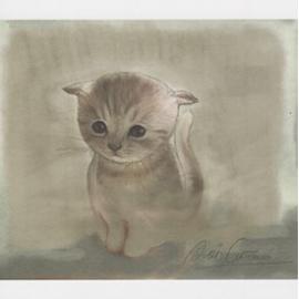 """Carte postale """" Petit Chat"""""""