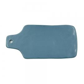 Planche à fromage bleu pétrole