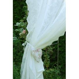 Rideaux Camille - Blanc 280cm