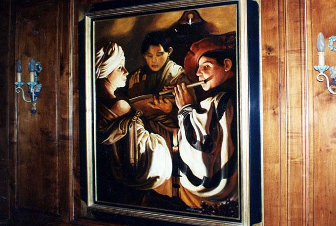 Les tableaux du Mas des Anges